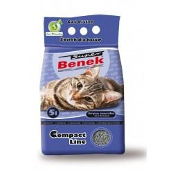 BENEK 5L żwirek compact zapachowy ( granatowy )