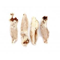 Chews 4 Dogs Ucho królicze z włosem 100g