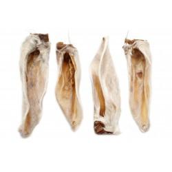 Chews 4 Dogs Ucho baranie z włosem 100g_ZOOZOO