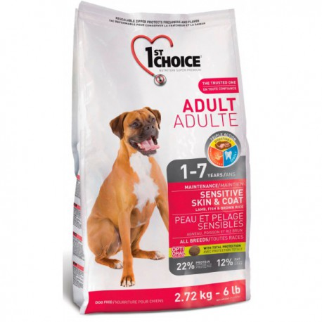 1st Choice Dog Adult Sensitive Skin & Coat 350g
