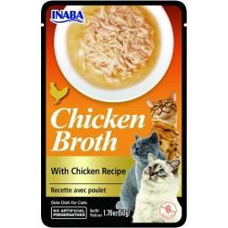 INABA Rosół z mięsem CHICKEN BROTH Kurczak 50 gr