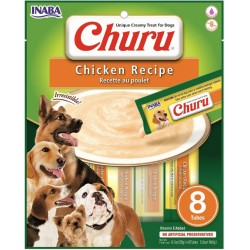 INABA CHURU DOG przysmaki IDEALNY NA LODY dla psa Kurczak 8 tubek po 20g