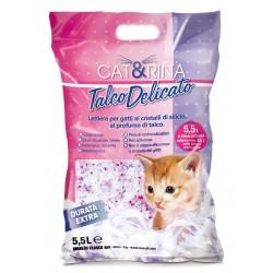 CAT&RINA żwirek silikonowy z talkiem 5,5l