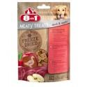 8in1 Przysmak Dog Freeze Dried Duck/Apple 50g