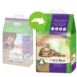 Żwirek CAT'S BEST SMART PELLETS (Dawniej NATURE GOLD) 20L
