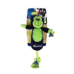 AFP Zabawka dla psa małpka ze sznurem