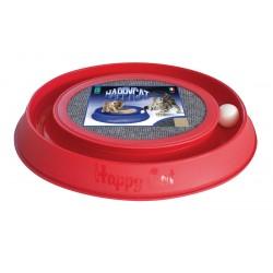 RECORD Zabawka drapak dla kota okrągły z piłką 41x38cm