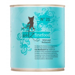 Catz finefood No.21 dziczyzna & dziki karmazyn 400g