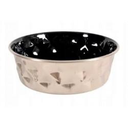 ZOLUX Miska inox DIAMOND czarna 0,55l