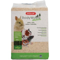 ZOLUX Podściółka RodyWood Nature trociny 60 l/4 kg