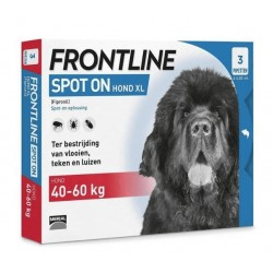 FRONTLINE Spot On XL 40-60kg - 3 pipetki