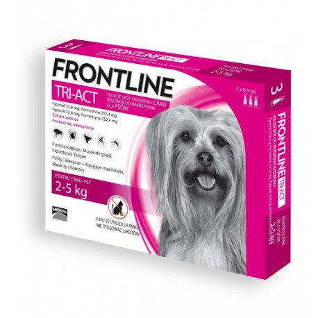 FRONTLINE Tri-Act XS 3 pipety