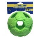 PetSport Piłka na przysmaki Kick Soccer 6,25cm zielona