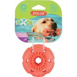 ZOLUX Pływająca zabawka TPR MOOS piłka 8 cm kol. pomarańczowy
