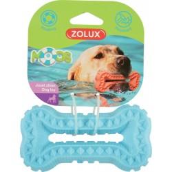 ZOLUX Zabawka pływająca TPR MOOS kość 16 cm kol. niebieski