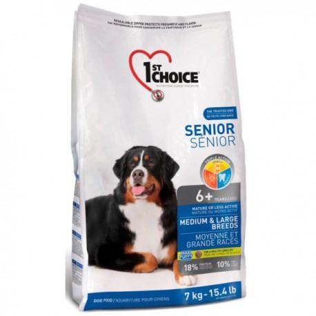 1st Choice Dog Senior Medium & Large Breeds 14 kg