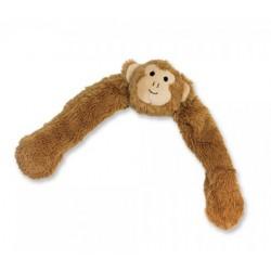 NOBBY Pluszowa małpka z liną w środku 55cm