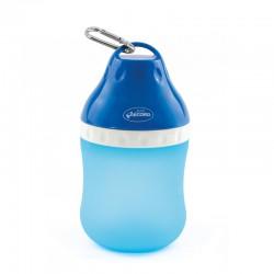 RECORD Butelka podróżna na wodę z miską 0,4l