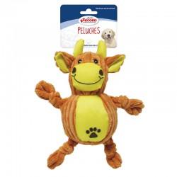 RECORD zabawka pluszowa dla psa Krowa 23cm