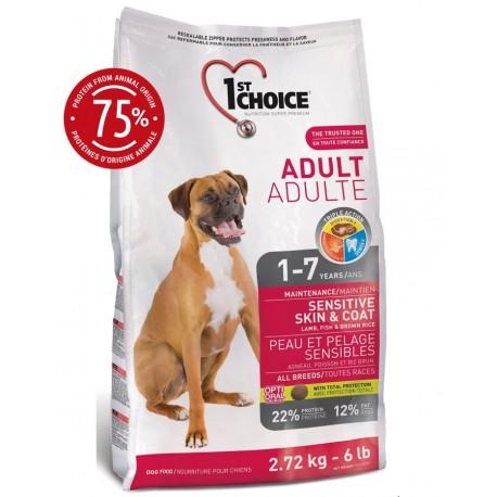 1st Choice Dog Adult Sensitive Skin & Coat 7kg