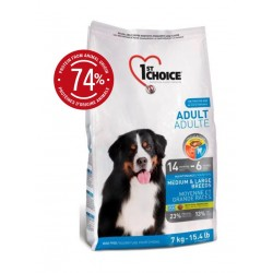 1st Choice Dog Adult Medium & Large Breeds 15kg