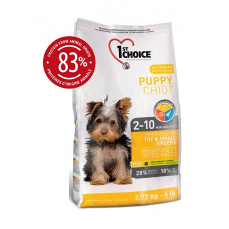 1st Choice Puppy Toy & Small Breeds 2,72kg