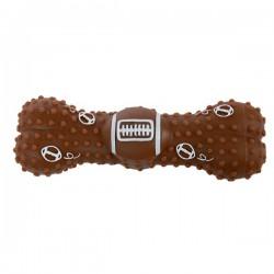 ZOLUX Zabawka winylowa kość piłka do rugby