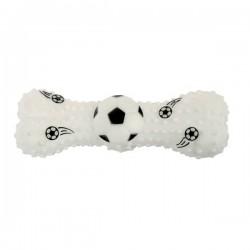 ZOLUX Zabawka winylowa kość futbol piłka nożna 15cm