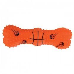 ZOLUX Zabawka dla psa winylowa kość piłka do koszykówki 15cm