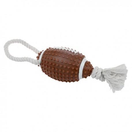 ZOLUX winylowa piłka do futbolu amerykańskiego + sznurek 10cm