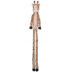 NOBBY Żyrafa pluszowa z liną w środku 113cm