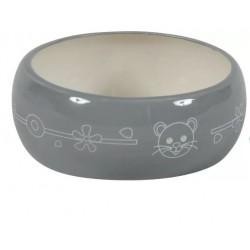 ZOLUX Miska ceramiczna dla gryzonia 300 ml szary/beżowy