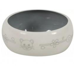 ZOLUX Miska ceramiczna dla gryzonia 300 ml beżowy/szary