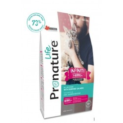 Pronature Life Cat Infiniti 2,27kg dla kotów i kociąt Wysokomięsna karma 73% białka zwierzęcego