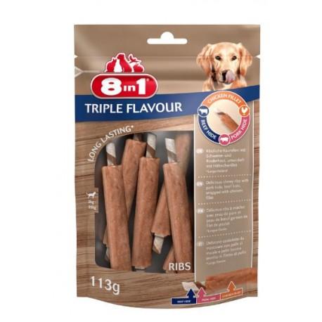 8in1 Przysmak Triple Flavour Ribs Żeberka 6szt