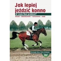 Książka Jak lepiej jeździć konno + płyta DVD gratis