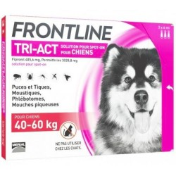 FRONTLINE Tri-Act XL 40-60kg 3 pipety