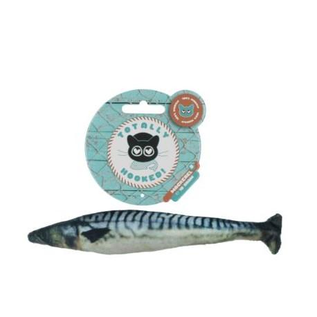 TotallyHooked Zabawka dla kota Makrela 20cm