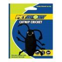 PetSport Zabawka dla kota Świerszcz z kocimiętką czarny