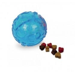 NOBBY Piłka TPR na przysmaki 10cm niebieska