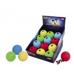 NOBBY Gumowa piłka na przysmaki 8cm