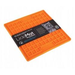 Mata do lizania LickiMat® Playdate pomarańczowa