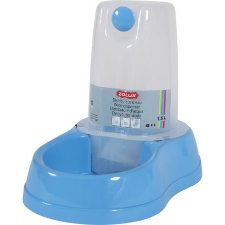 ZOLUX Dystrybutor wody BREAK 1,5l niebieski