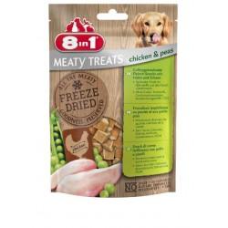 8in1 Przysmak Dog Freeze Dried Chicken/Peas 50g
