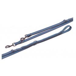NOBBY Smycz VARIADO 2,1-2,4m/ 20mm błękitna