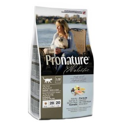 Pronature Holistic Cat Atlantic Salmon 5,44kg + kanadyjski żwirek gratis!
