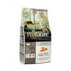 Pronature Holistic Cat Turkey & Cranberries 5,44kg + kanadyjski żwirek gratis!