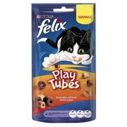 Felix Play Tubes kurczak i wątróbka 50g