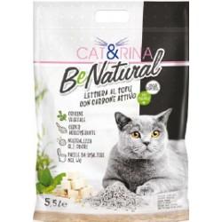 CAT&RINA Żwirek tofu węgiel aktywny 5,5l