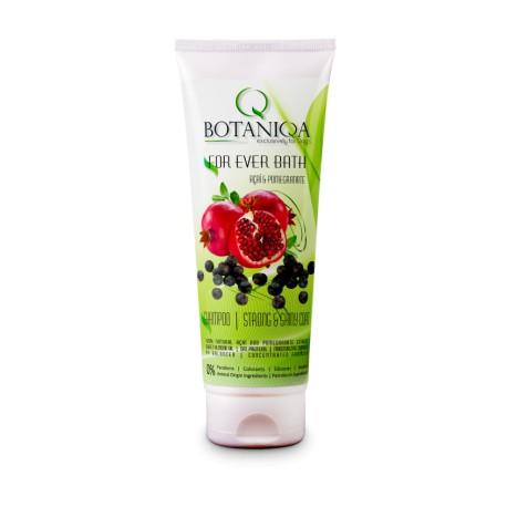 BotaniQa For Ever Bath Açaí & Pomegranate Shampoo 250ml